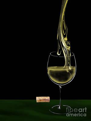 White Wine - Vin Blanc 2 Original