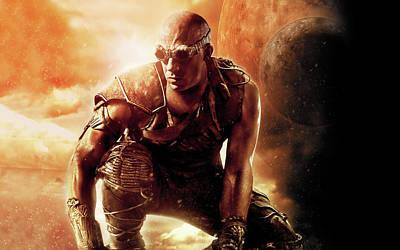 Vin Diesel Riddick Movie Art Print