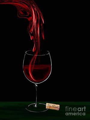 Red Wine - Vin Rouge 2 Original