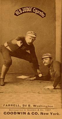 Painting - Vinage Baseball by Vintage Pix