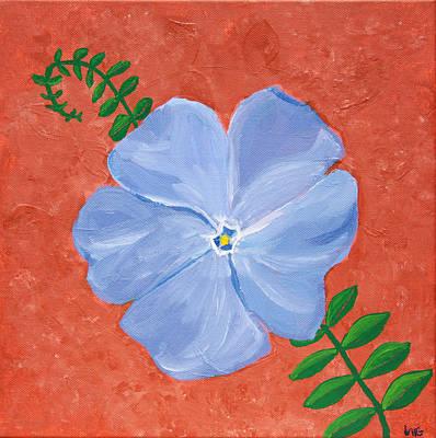 Painting - Vinca Vine by Lynn-Marie Gildersleeve