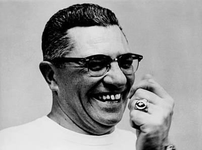 Vince Photograph - Vince Lombardi 1913-1970, Coach by Everett