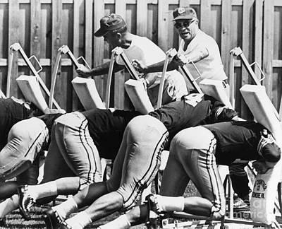 Vince Photograph - Vince Lombardi (1913-1970) by Granger