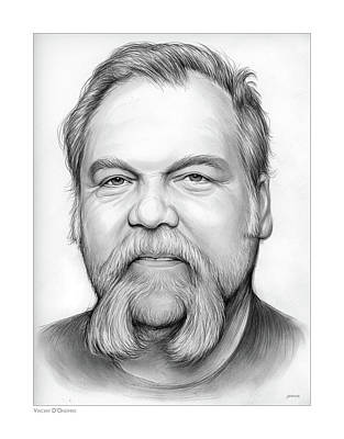 Drawing - Vincent D by Greg Joens