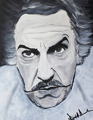 Vincent Price Painting - Vincent Price by Daniel Daruda