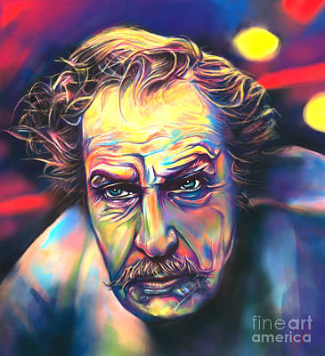 Vincent Price Art Print by Julianne Black