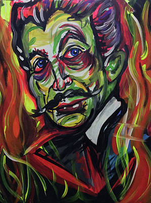 Vincent Price Painting - Vincent Price by Lori Teich