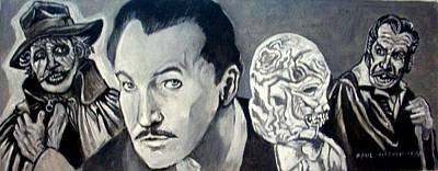 Painting - Vincent Price by Paul Weerasekera