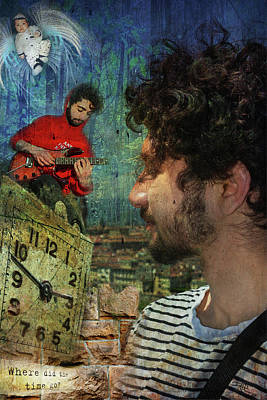 Digital Art - Vincent by Ricardo Dominguez