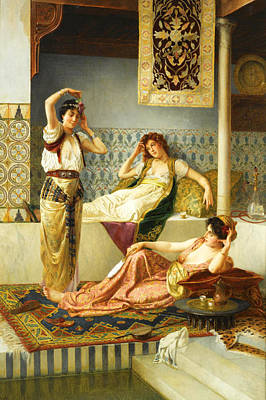 Photograph - Vincent Stiepevich In The Harem by Munir Alawi