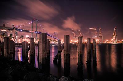Vincent Thomas Bridge Original by Carlos Sanchez