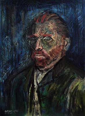 Vincent Van Gogh    Art Print by Antonio Ortiz