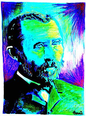 Mixed Media - Vincent Van Gogh by Bonnie Cushman