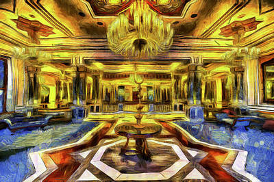 Mixed Media - Vincent Van Gogh Palace by David Pyatt