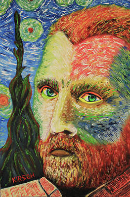Vincent Van Gogh Original by Robert Kirsch