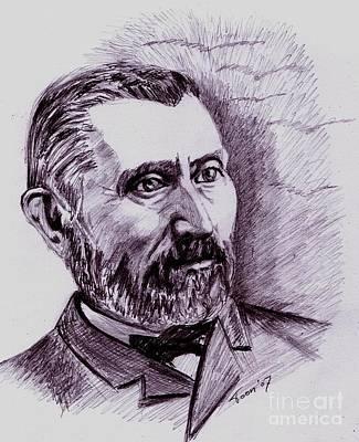Drawing - Vincent Van Gogh by Toon De Zwart