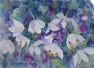 Painting - Vine And Berries by Lisa Vincent