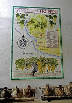 Vinedos Tio Pepe - Jerez De La Frontera Art Print by Juergen Weiss