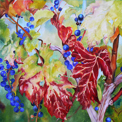 Vines In The Fall Art Print