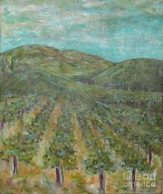 Painting - Vineyard #2 by Jeanie Watson