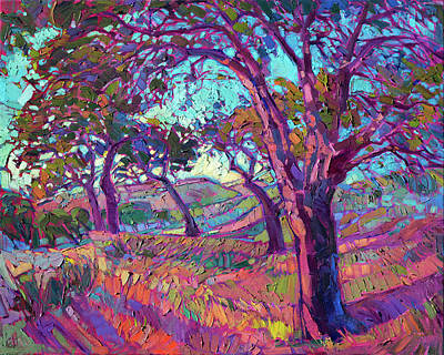 Painting - Vineyard Of Color by Erin Hanson