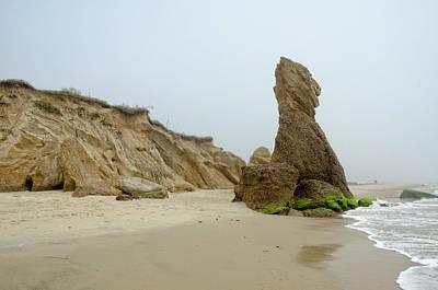 Photograph - Vineyard Rocky Beach by Donna Doherty