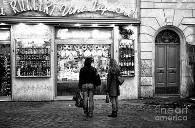 Photograph - Vini Liquori by John Rizzuto