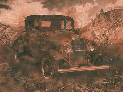 Photograph - Vintage 1932 Ford by Ray Van Gundy