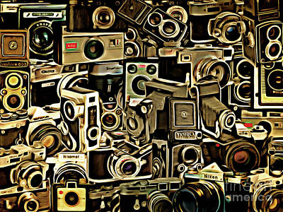 Photograph - Vintage Abstract Photography 20150208 V1 by Home Decor