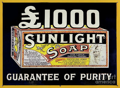 Photograph - Vintage Advert by Linsey Williams
