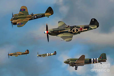 Yak Wall Art - Photograph - Vintage Aircraft by Adrian Evans