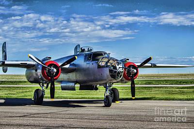 Photograph - Vintage Aircraft by Steven Parker