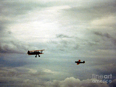 Photograph - Vintage Airplanes by Charles McKelroy