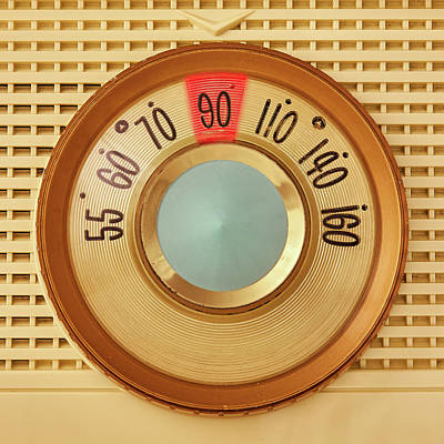 Vintage Am Radio Dial Art Print by Jim Hughes