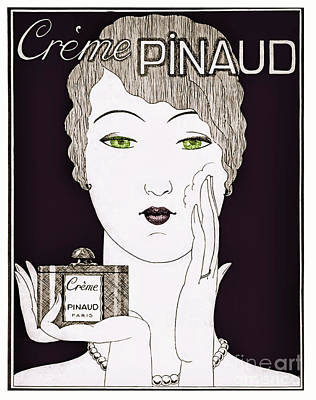 Flappers Painting - Vintage Art Deco Perfume Glamour  by Mindy Sommers