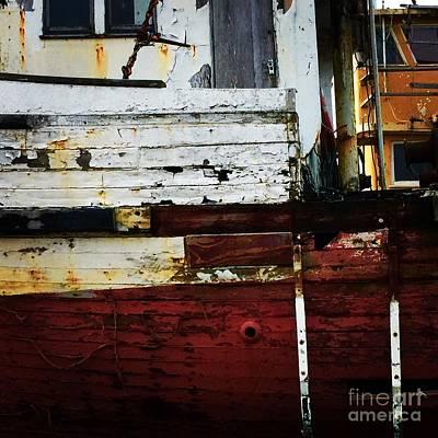 Photograph - Vintage Astoria Ship by Suzanne Lorenz