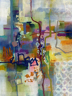 Abstract Expressionism - Vintage Atelier 2 by Hailey E Herrera