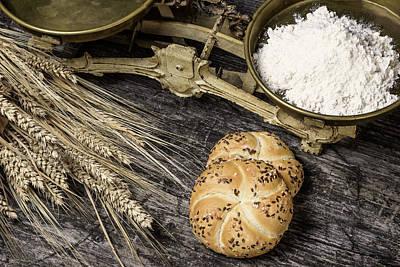 Photograph - Vintage Bakery Concept by Jaroslav Frank