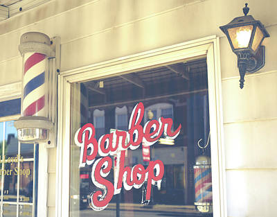 Photograph - Vintage Barber Shop by Dan Sproul