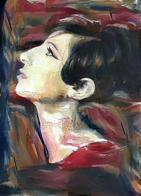 Digital Art - Vintage Barbra by Richard Laeton