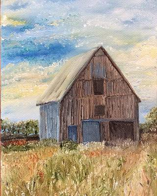 Painting - Vintage Barn by Linda Clark
