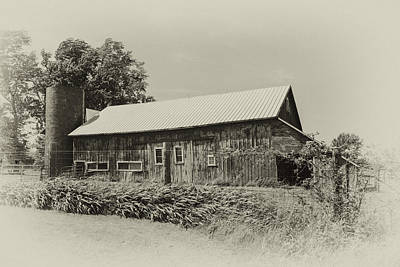 Photograph - Vintage Barn by Mary Timman