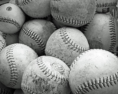 Photograph - Vintage Baseballs by Brooke T Ryan