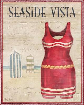 Vintage Bathing Suits II Art Print