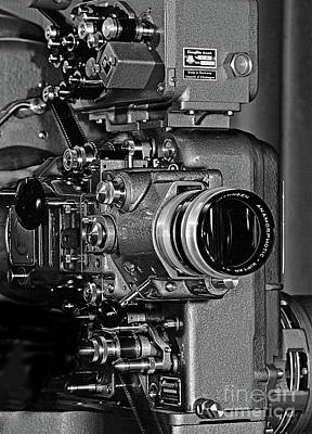 Photograph - Vintage Bauer Klangfilm Projector - Doc Braham - All Rights Reserved. by Doc Braham