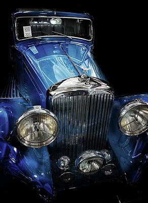 Oklahoma Photograph - Vintage Bentley by Martin Newman