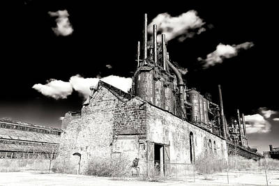 Photograph - Vintage Bethlehem Steel by John Rizzuto