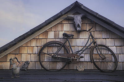 Photograph - Vintage Bike by Jacqui Boonstra
