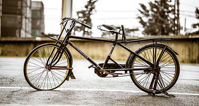 Photograph - Vintage Bike by Max Neivandt