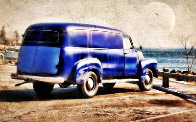 Photograph - Vintage Blue by Diana Angstadt